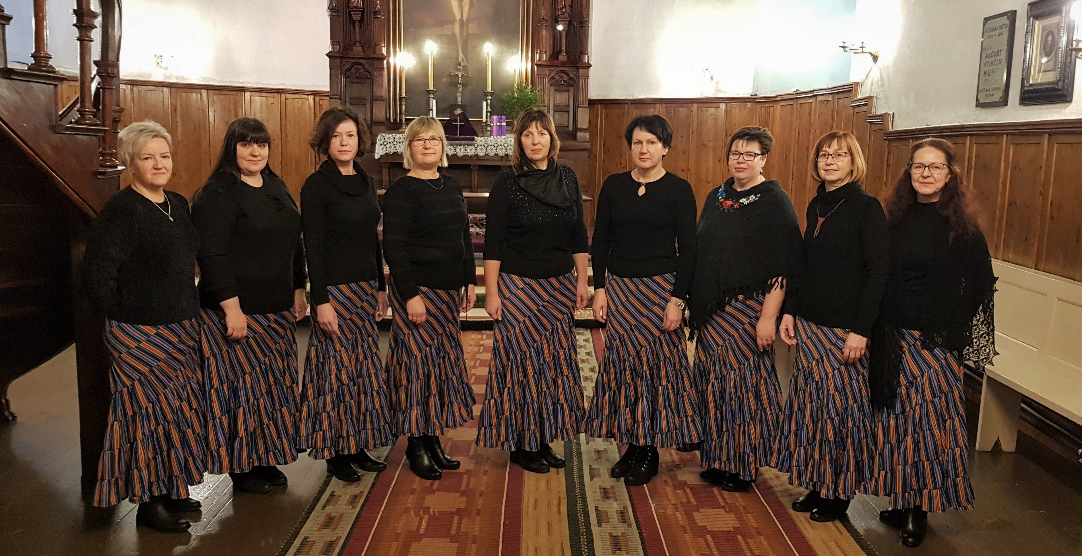 3. advendi jumalateenistus koos Pajusi naisansabliga